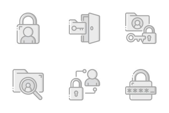 Confidential Information Icons